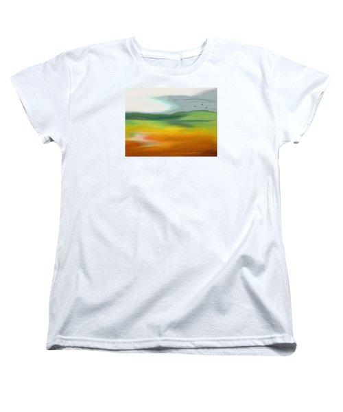 The Distant Hills Women's T-Shirt (Standard Cut)