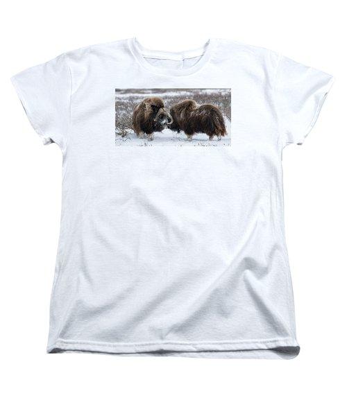 The Face Off  Women's T-Shirt (Standard Cut)