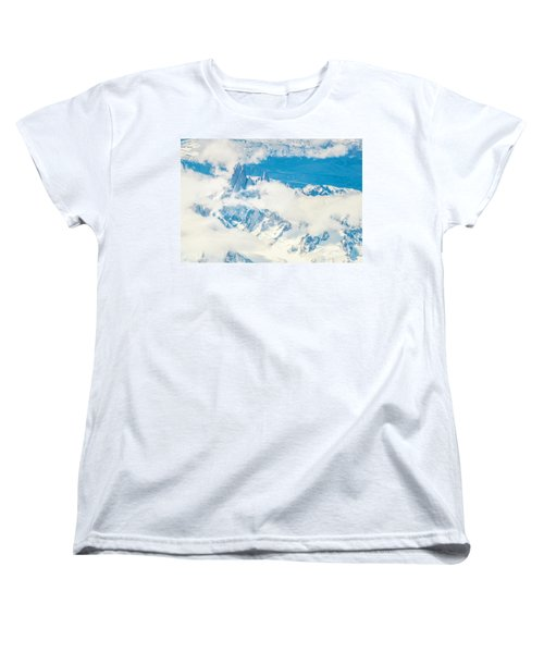 The Fitz Roy Women's T-Shirt (Standard Cut) by Andrew Matwijec