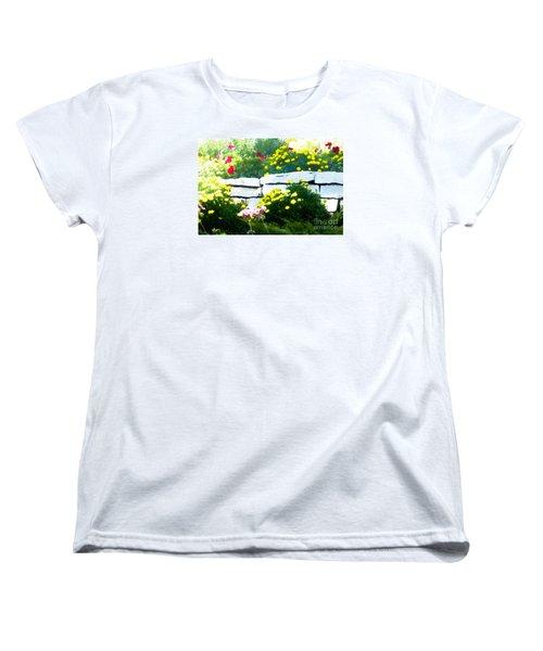 The Garden Wall Women's T-Shirt (Standard Cut) by David Blank