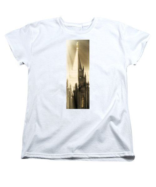Women's T-Shirt (Standard Cut) featuring the photograph The Glory Of The Lord Shone Round About by Greg Collins