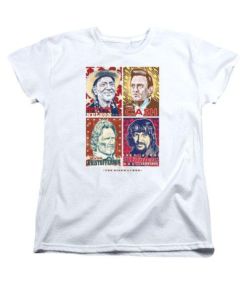 The Highwaymen Women's T-Shirt (Standard Cut) by Jim Zahniser