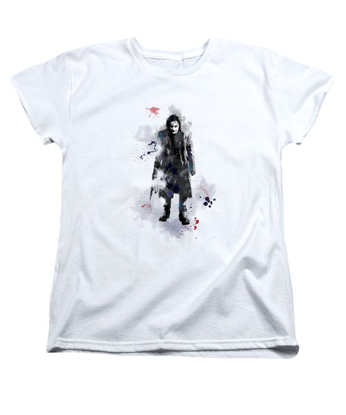 The Joker Women's T-Shirt (Standard Cut) by Marlene Watson