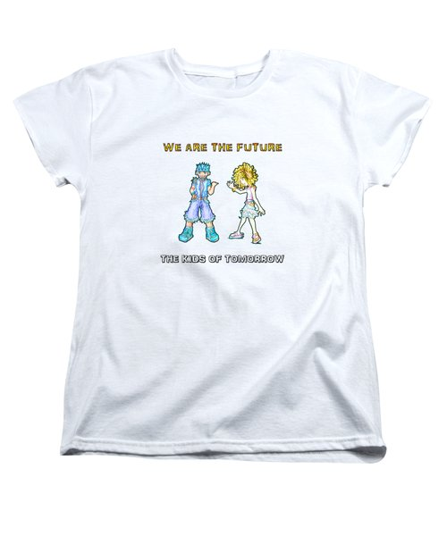 The Kids Of Tomorrow Toby And Daphne Women's T-Shirt (Standard Cut) by Shawn Dall