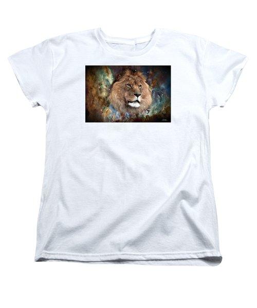 The King Women's T-Shirt (Standard Cut) by Bill Stephens