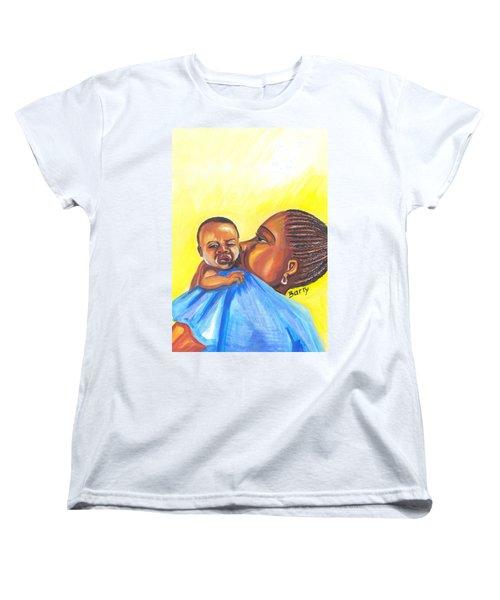 The Kiss Of A Mother In Senegal Women's T-Shirt (Standard Cut)
