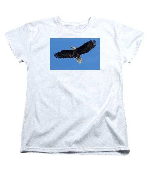 The Landing Women's T-Shirt (Standard Cut) by Sheldon Bilsker