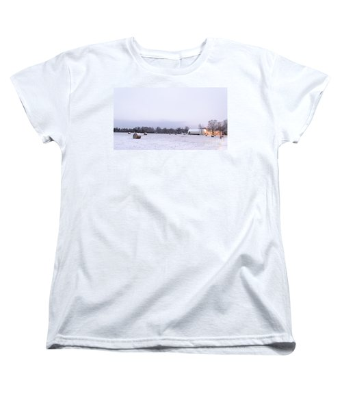 The Last Farm... Women's T-Shirt (Standard Cut) by Patrick Fennell