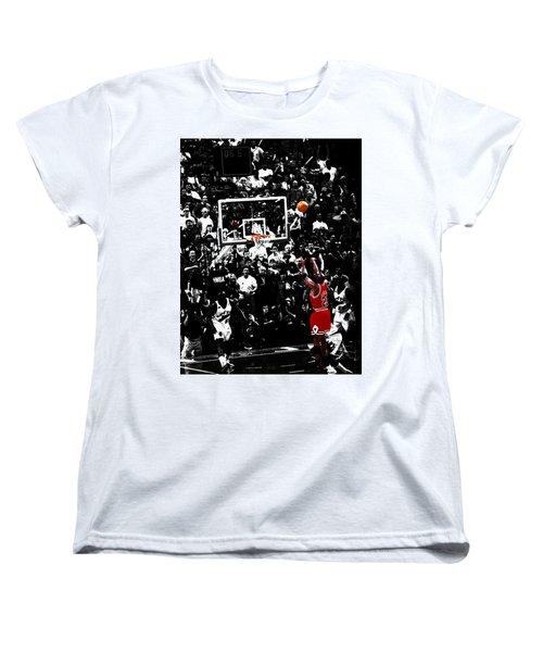 The Last Shot 23 Women's T-Shirt (Standard Cut) by Brian Reaves