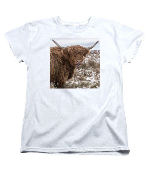 The Laughing Cow, Scottish Version Women's T-Shirt (Standard Cut) by Jeremy Lavender Photography