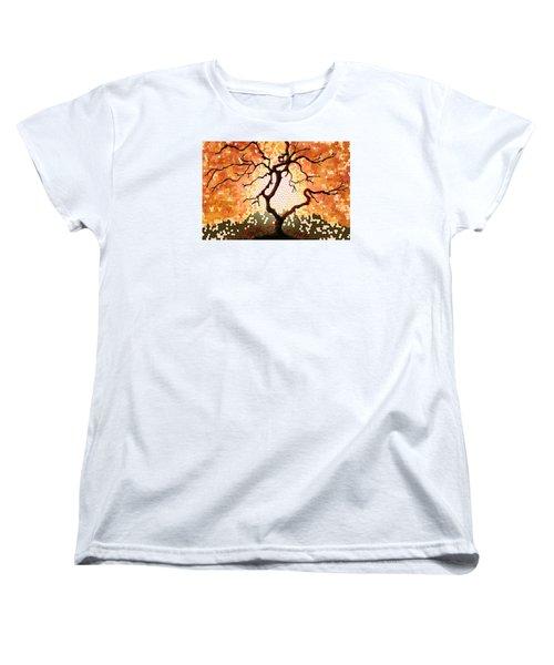The Living Tree Women's T-Shirt (Standard Cut)