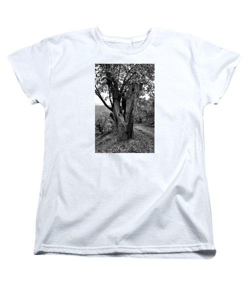 The Maltreated One Women's T-Shirt (Standard Cut) by Goyo Ambrosio