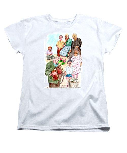 The Neighborhood Music Man Women's T-Shirt (Standard Cut)