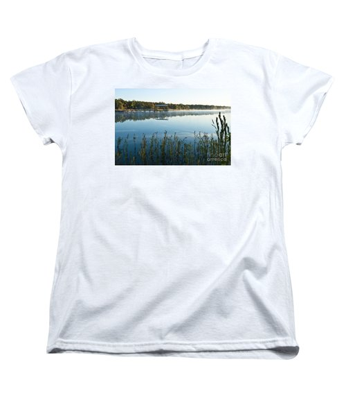 Women's T-Shirt (Standard Cut) featuring the photograph The Old Fishing Pier by Tamyra Ayles