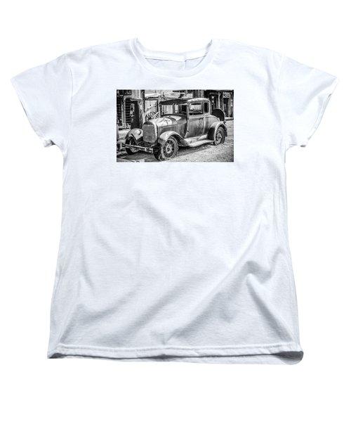 The Old Model Women's T-Shirt (Standard Cut) by Marius Sipa