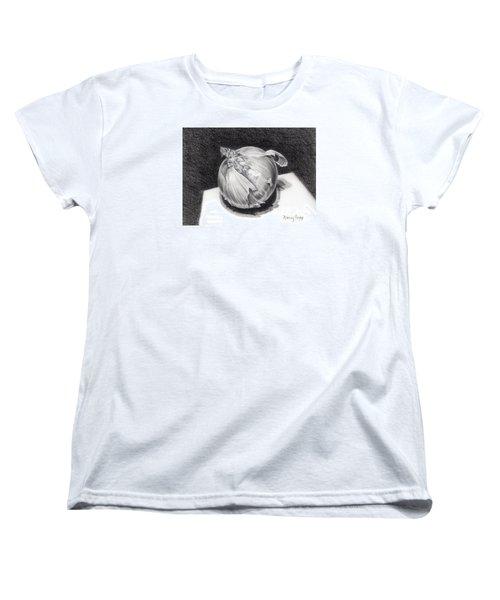 The Onion Women's T-Shirt (Standard Cut) by Nancy Cupp