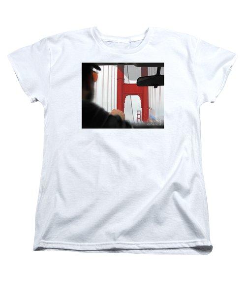 The Other Side Women's T-Shirt (Standard Cut) by Cheryl Del Toro