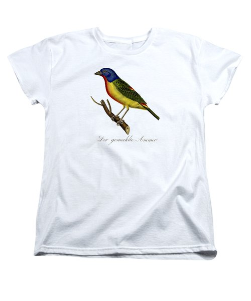 The Painted Bunting Women's T-Shirt (Standard Cut) by Unknown