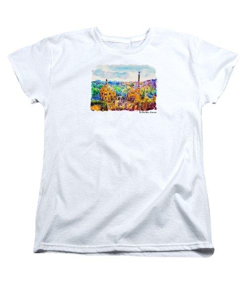 Park Guell Barcelona Women's T-Shirt (Standard Cut)