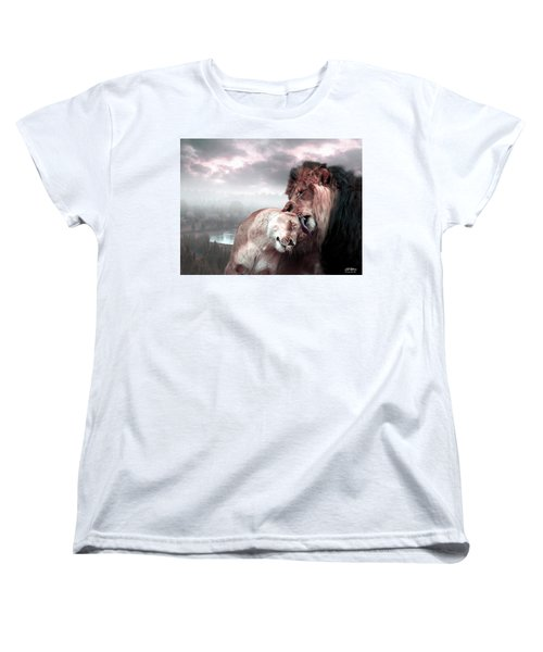 The Passion Women's T-Shirt (Standard Cut) by Bill Stephens
