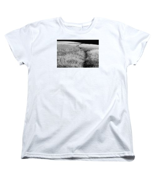 Women's T-Shirt (Standard Cut) featuring the photograph The Path by Mark Alan Perry