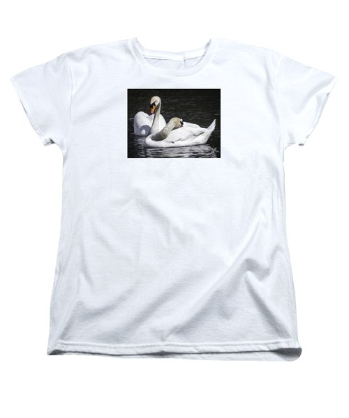 Women's T-Shirt (Standard Cut) featuring the photograph The Perfect Pair by Cathy Donohoue
