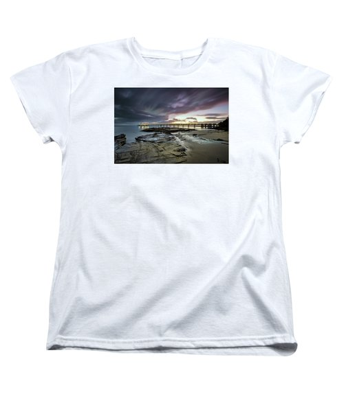 The Pier @ Lorne Women's T-Shirt (Standard Cut) by Mark Lucey