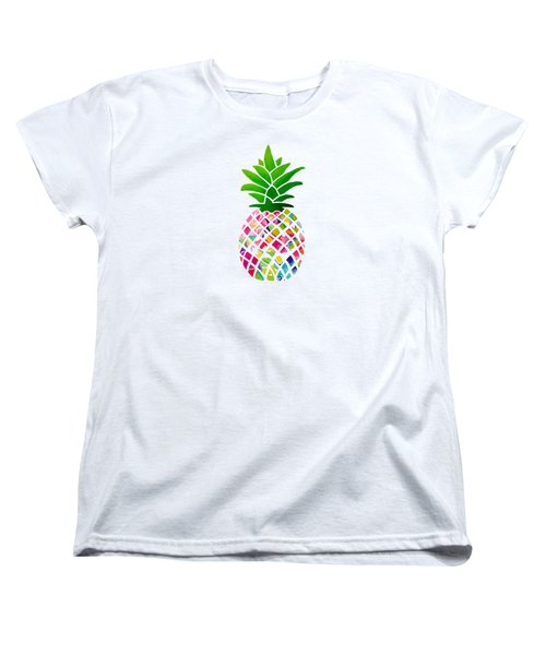 The Pineapple Women's T-Shirt (Standard Cut) by Maddie Koerber
