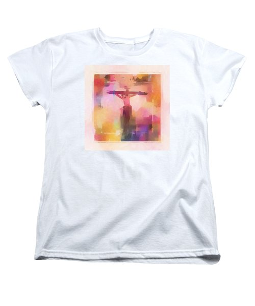Women's T-Shirt (Standard Cut) featuring the digital art The Price by Aaron Berg