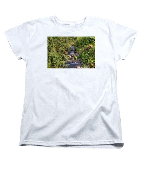 The Quinault Stream 2 Women's T-Shirt (Standard Cut)