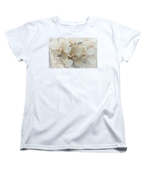The Secret To Orchids Women's T-Shirt (Standard Cut) by Sherry Hallemeier