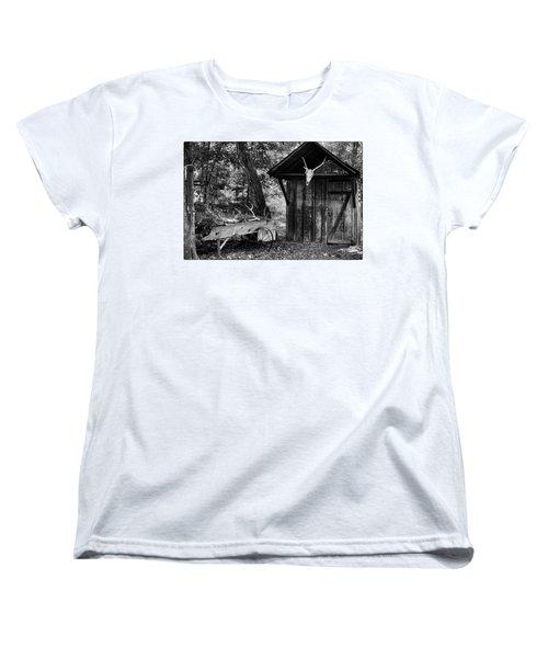 The Shack Women's T-Shirt (Standard Cut) by Wade Courtney