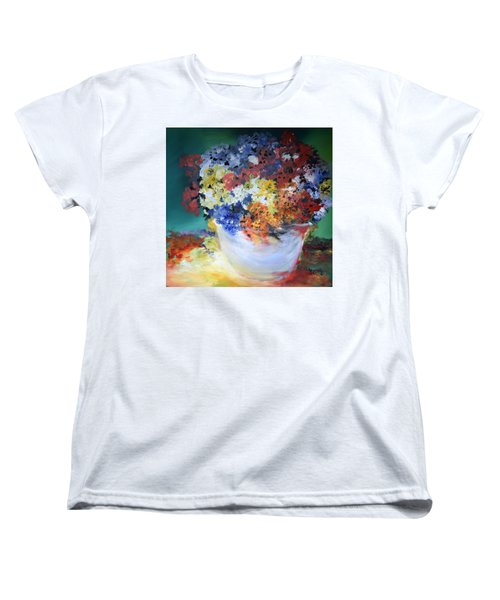 The Silver Pot Women's T-Shirt (Standard Cut) by Gary Smith