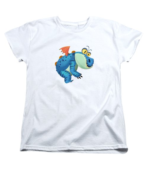 The Sloth Dragon Monster Women's T-Shirt (Standard Cut) by Next Mars