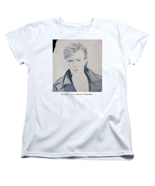 The Struggle Women's T-Shirt (Standard Cut) by Teresa Beyer