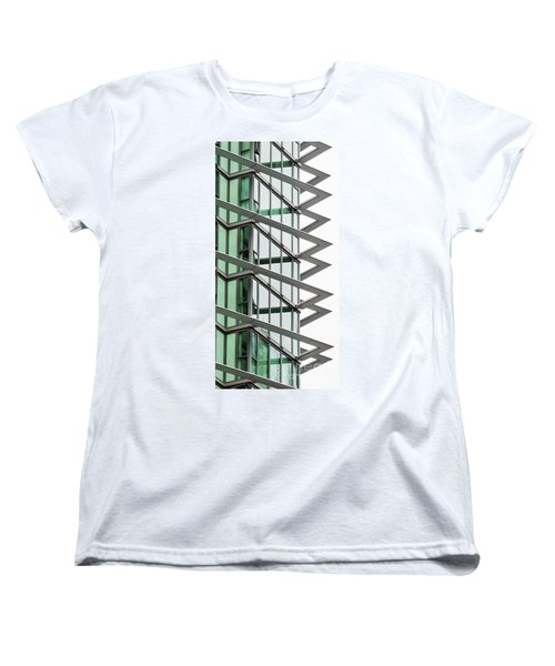 Women's T-Shirt (Standard Cut) featuring the photograph The Teeth by Chris Dutton