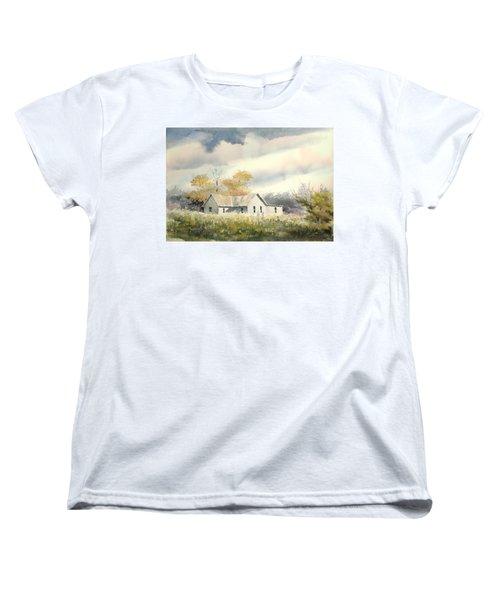 The Thompson Place Women's T-Shirt (Standard Cut) by Sam Sidders