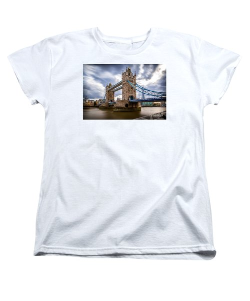 The Three Towers Women's T-Shirt (Standard Cut) by Giuseppe Torre