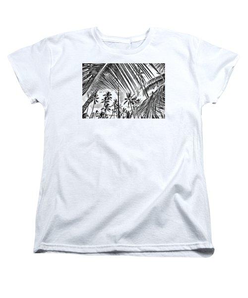 Women's T-Shirt (Standard Cut) featuring the photograph The Tropics by DJ Florek