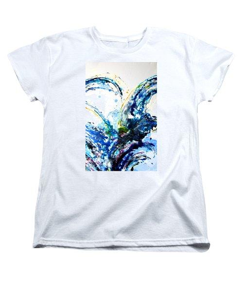 The Wave 2 Women's T-Shirt (Standard Cut) by Roberto Gagliardi