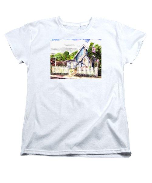 The Way Inn Women's T-Shirt (Standard Cut) by Eric Samuelson