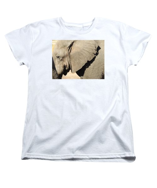 Women's T-Shirt (Standard Cut) featuring the photograph The Weathered Look by Betty-Anne McDonald