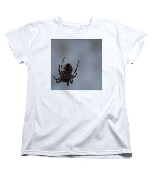 Women's T-Shirt (Standard Cut) featuring the photograph The Webs We Weave by Ramona Whiteaker