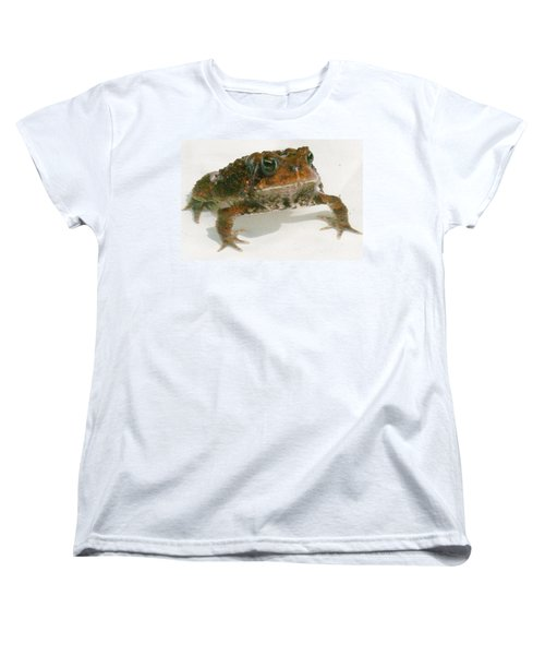 Women's T-Shirt (Standard Cut) featuring the digital art The Whole Toad by Barbara S Nickerson
