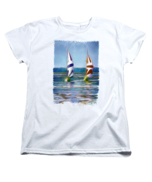 The Wind In Your Sails Women's T-Shirt (Standard Cut)