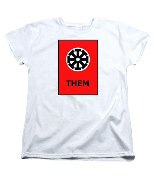 Them Women's T-Shirt (Standard Cut) by Richard Reeve