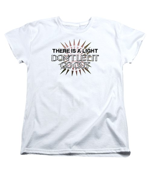 There Is A Light Women's T-Shirt (Standard Cut) by Clad63