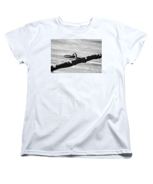 Women's T-Shirt (Standard Cut) featuring the photograph There by Karol Livote