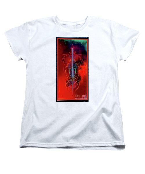 They Like Red  Women's T-Shirt (Standard Cut) by Alan Johnson