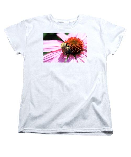 Women's T-Shirt (Standard Cut) featuring the photograph Think Bees by Paula Guttilla